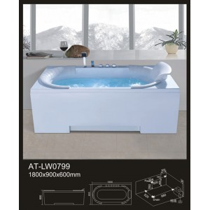BỒN TẮM MASSAGE KAWA AT-LW0799